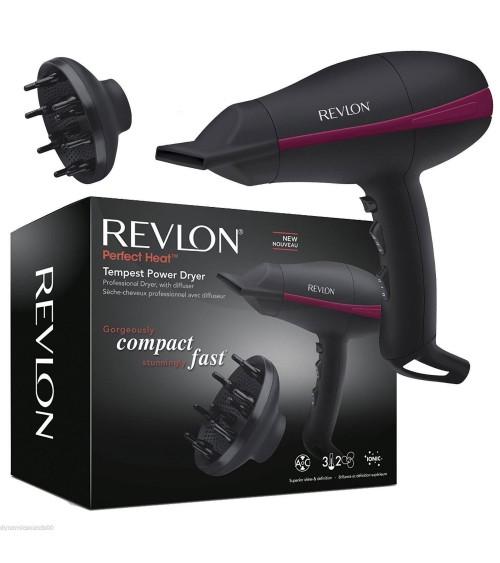 Revlon RVDR5821DUK Pro AC Tempest Power Hair Dryer with Diffuser 2000 Watt