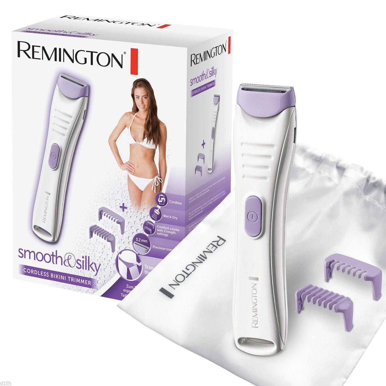 Remington BKT4000 Smooth   Silky Cordless Wet   Dry Bikini Women s Trimmer ffe9bd074e9