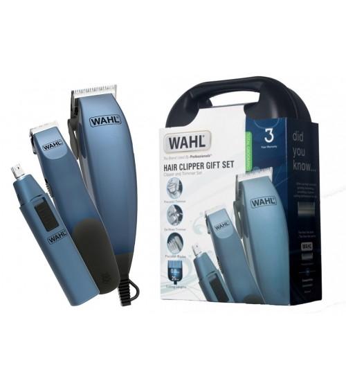 Wahl 79305-2817 Hair Clipper Gift Set Hair Cut Machine Beard Nose Ear Trimmers Complete Kit