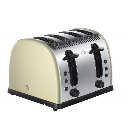 Russel Hobbs 21302 Cream Legacy 4 Slice Toaster