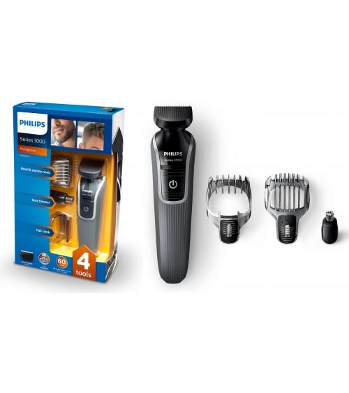 Philips QG3332/23 Series 3000 4-in-1 Waterproof Mens Grooming Kit