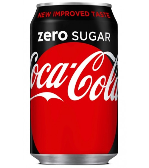 Coca Cola Zero Coke 24 Pack 300ml Cans