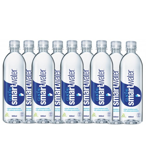 Glaceau Smart Water 24x600ml Bottles