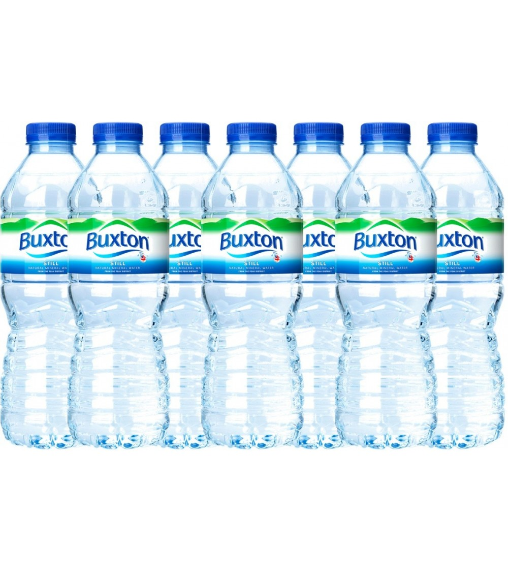Buxton Natural Mineral Still Water 24x500ml Bottle