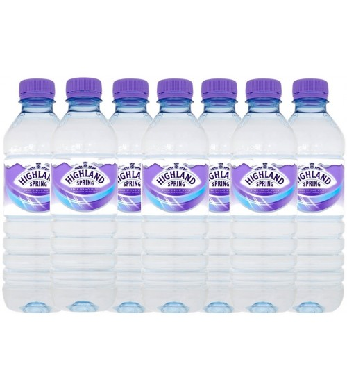 Highland Spring Still Spring Water 24x500ml Bottles