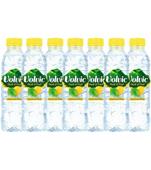 Volvic Touch Of Fruit Lemon & Lime Flavour 24x500ml Bottles
