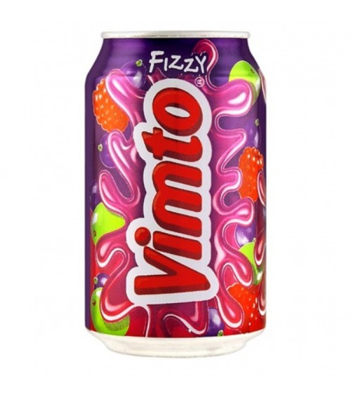 Vimto Fizzy 24 Pack 330ml Cans