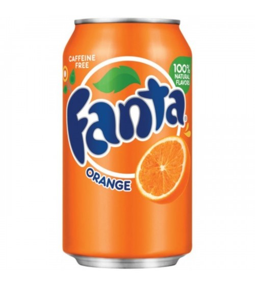 Fanta Orange 24 Pack 330ml Cans