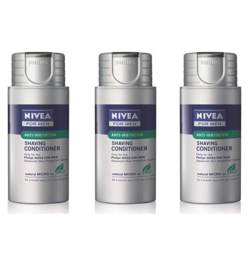 3 x Philips HS800/04 Nivea Shaving Conditioner Moisturising Balm For Men