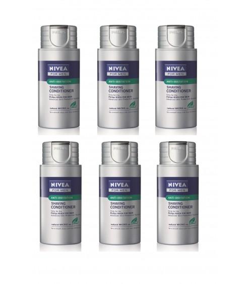 6 x Philips HS800/04 Nivea Shaving Conditioner Moisturising Balm For Men