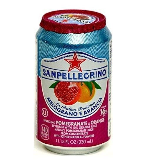 San Pellegrino Melograno Arancia (Pomegranate & Orange) 24x330ml