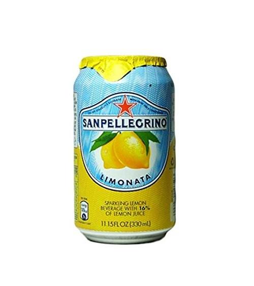 Sanpellegrino Sparkling Fruit Beverage Limonata 330ml Pack of 24