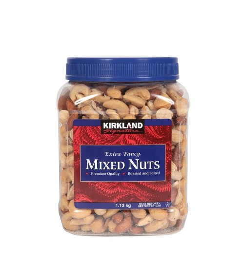 Kirkland Signature Extra High Quality Fancy Mixed Nuts 1.13 kg Jar