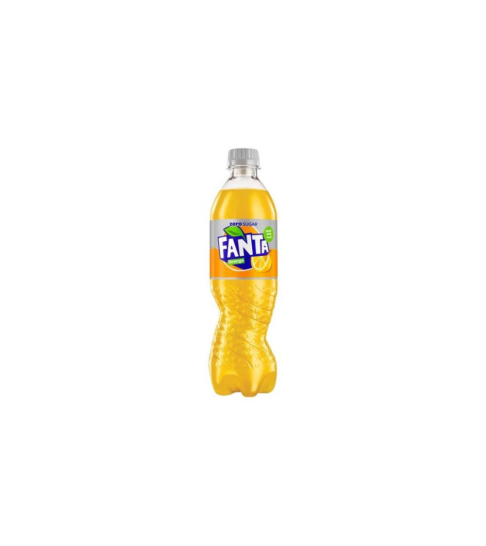Fanta Orange Zero 500ml 12 pack