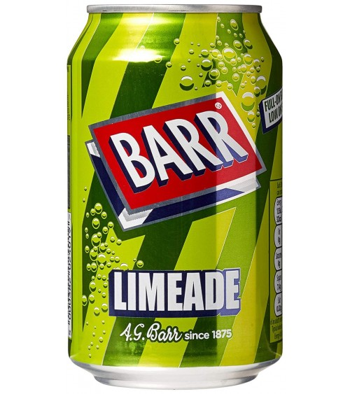 Barr Limeade 330ml 24 pack Can