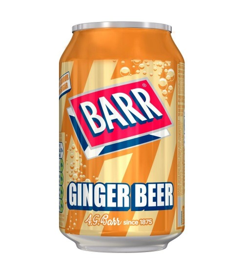 Barr Ginger Beer 330m 12 pack